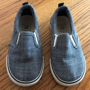 Gap Chambray Slip On Sneakers -7